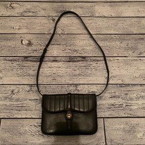 Vintage black Gucci crossbody bag
